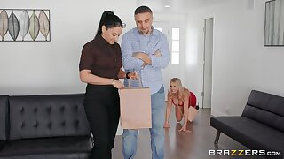 busty mom craves to join the fun in a kinky residence fetish