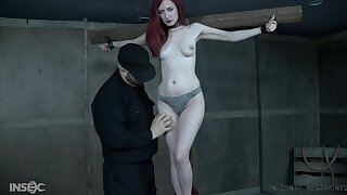 Dirty torture session for pierced nipples redhead Penny Lay