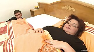 Yahra, an old lady close by floppy tits, enjoys a savory lecherous sidestep