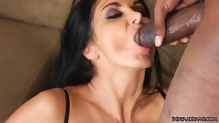 AA and JJ at Play - pornstar Ava addams screwed by BBC in interracial hardcore - mouthful cumshot