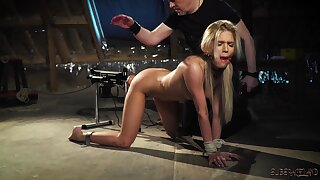 Bondage and sex for sexy teen that wants imprecise fuck