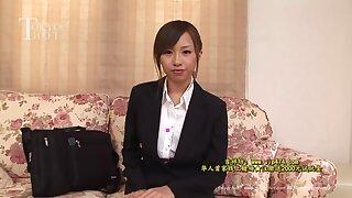 Ria Kisaragi Lewd Sales Lady Tokyo Hot