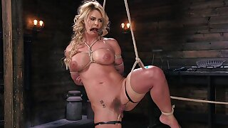 Phoenix Marie happenstance circumstances pussy pain with pins during bondage session
